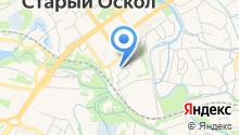 Мировые судьи Старооскольского района на карте