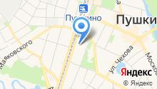Пушкино-Климат на карте