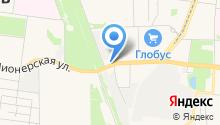 Бензо электро град на карте