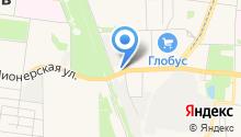Бензоэлектроград на карте