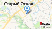 Кириллица на карте