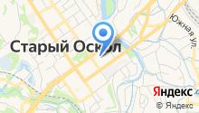 МАКС-М на карте