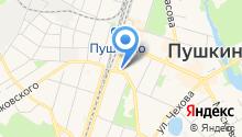 Центральная клиническая больница №2 им. Н.А. Семашко на карте