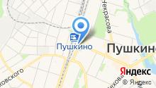 У Станции на карте
