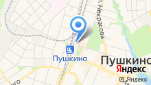 Магазин хозтоваров на ул. Лермонтова на карте