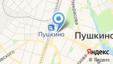 Племзавод Зеленоградское, ЗАО на карте