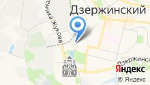 Автомойка в Стройгородке на карте