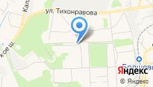 Автостоянка на Пушкинской на карте