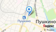 На Тургенева на карте