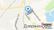 Почтовое отделение №140091 на карте