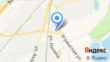 Автомойка на Угрешской на карте