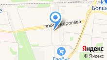 Бест-СВ на карте