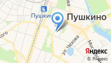 Пушкино Лофт на карте