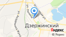 Дзержинская городская похоронная служба на карте