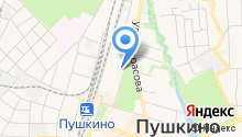 Пушкинский союз садоводов на карте