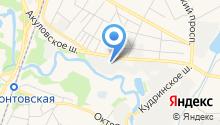 Объединенная редакция ФСИН России на карте