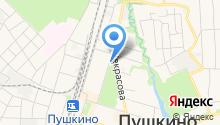 Пушкинское Управление социальной защиты населения на карте
