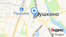 Администрация Пушкинского муниципального района на карте