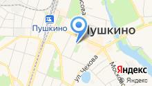 Совет депутатов Пушкинского муниципального района на карте