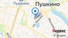 Прокуратура г. Пушкино на карте