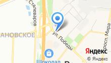 Кофейня на карте
