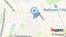 АЛЬТЕРНАТИВА-АВТОСЕРВИС на карте