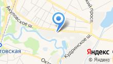 ПромТехСервис - производство бетонных изделий и металлоконструкций на карте