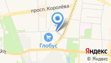 Орг-центр на карте