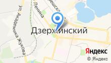 Магазин сантехники и обоев на карте