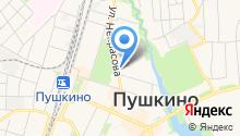 Московское областное отделение КПРФ на карте