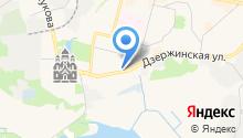 Дзержинский отдел Управления Федеральной службы государственной регистрации на карте