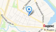 Правовое бюро Московской области на карте