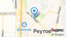 Автостоянка на ул. Победы на карте