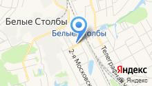 Белостолбовская городская амбулатория на карте