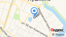 "Зуботехническая лаборатория ""Интердентос"" на карте"