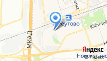 Почтовое отделение №143965 на карте