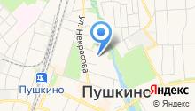 Серебряный берег, ТСЖ на карте