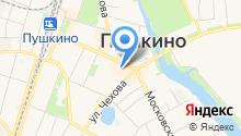Пушкинское центральное агентство недвижимости на карте