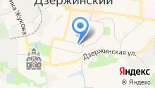 Совет депутатов г. Дзержинского на карте