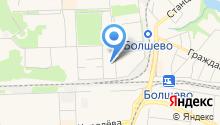 Дубрава, ТСЖ на карте