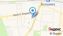Магазин разливного пива на ул. Суворова на карте