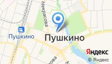 Объединенная дирекция ЖКХ Пушкинского муниципального района Московской области на карте