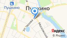 """Парикмахерская """"вид,ОК"""" - Парикмахерские услуги, услуги ногтевого сервиса. на карте"""