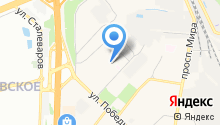 Почтовое отделение №143968 на карте