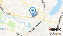 Автосервис на Учинской на карте