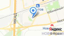 "Меховая фабрика ""Элина"" на карте"