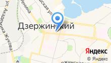 Платежный терминал на карте