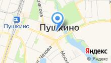 Информационное агентство Пушкинского района Московской области на карте