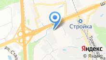 Сеть многопрофильных магазинов на карте