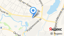 РКК на карте